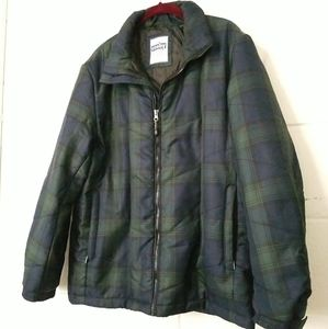 VTG Gerry Cosby USA Quilted Lined Light Barn Coat
